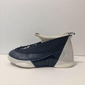 2016 Nike Air Jordan 15 Retro Obsidian 881429 400